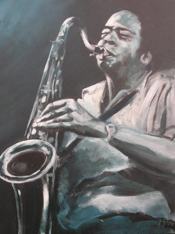 Expositie Jazzmusici door Ellen Siliakus