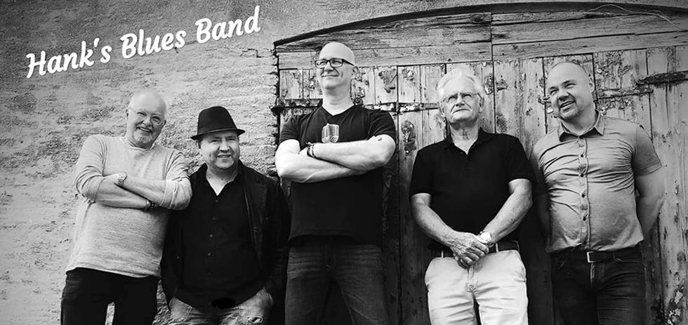 DRUMMERSMAAND: Hank's Blues Band